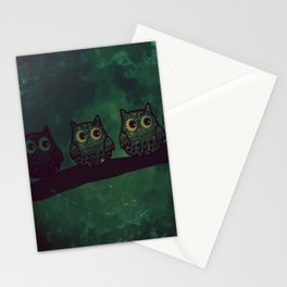owl 395 Stationery Cards