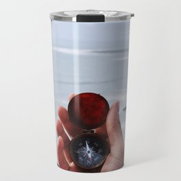 On with the Wanderlust - Find Your Way to Adventure Travel Mug
