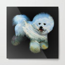 Dog Ross Metal Print