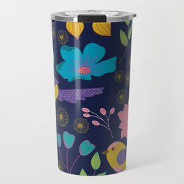 Birdy Botanical Travel Mug