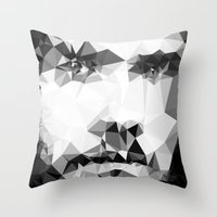 jared leto Throw Pillows featuring JARED by THE USUAL DESIGNERS