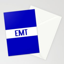 EMT: The Thin White Line Stationery Cards
