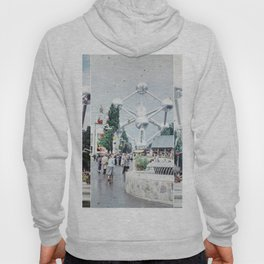 Brussels Atomium Photo Collage Hoody