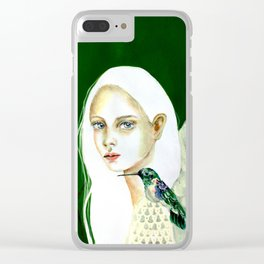 The message of the hummingbird Clear iPhone Case