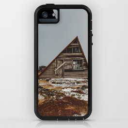 Icelandic Asymmetrical A-Frame Cabin iPhone Case