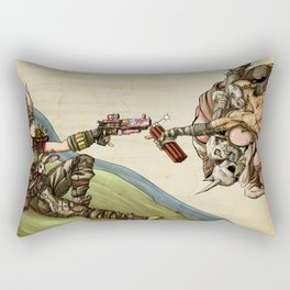 The Creation of Mayhem - Borderlands Rectangular Pillow