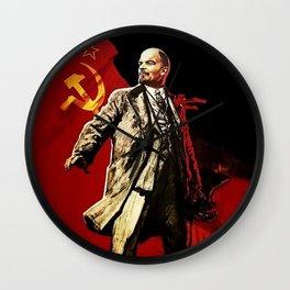 Vladimir Lenin Wall Clock