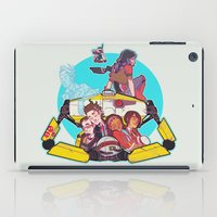 borderlands iPad Cases featuring caravan fam by hydrae