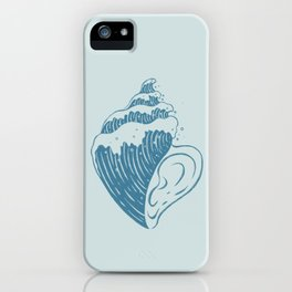 Listen, The Ocean is Calling iPhone Case