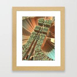 Docking Bay Framed Art Print