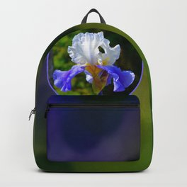 Bearded Iris Backpack