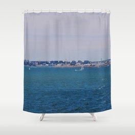 Sea by Giada Ciotola Shower Curtain