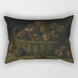 Basket of Apples Rectangular Pillow
