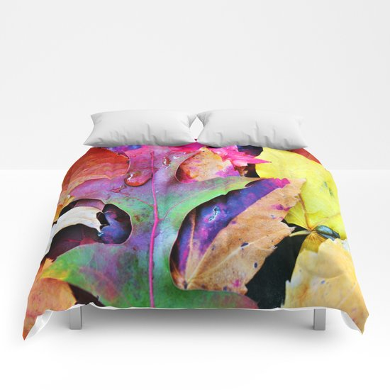 Colors of Autumn Comforters