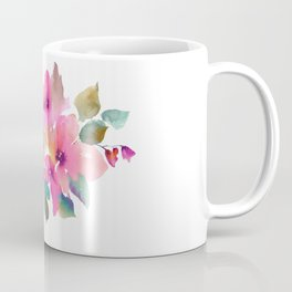 Lovely pink flowers. Watercolor florals Coffee Mug