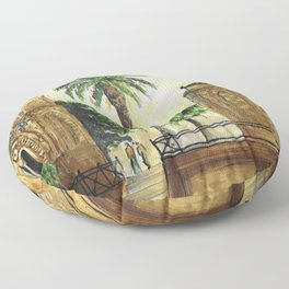 Palmes Floor Pillow