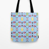 bugs Tote Bags featuring Bugs by Lena Photo Art