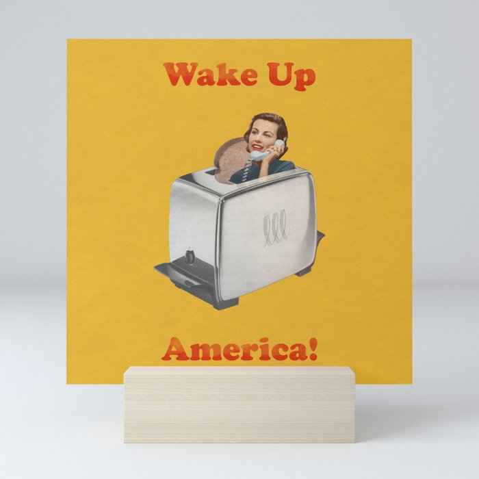 Wake Up Call Mini Art Print