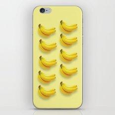 banana fruit pattern iPhone & iPod Skin