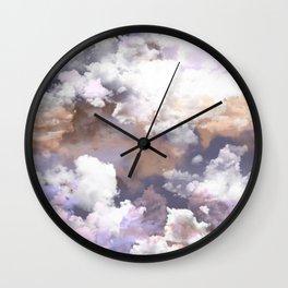 Clouds Habitus Wall Clock