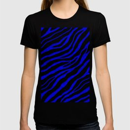 Ripped SpaceTime Stripes - Blue T-shirt