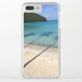 Shadow Palms Maho Bay USVI (Before The Storms) Clear iPhone Case