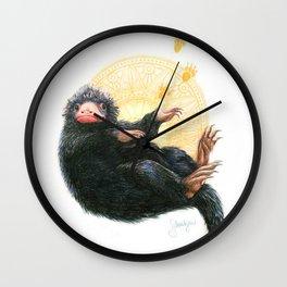 Niffler, based on Fantastic Beasts movie Wall Clock