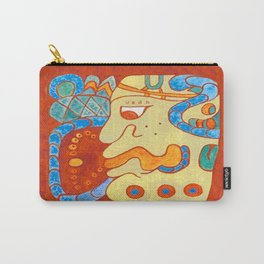 MAYAN GLYPH OF A SPIRIT UNNAMED Carry-All Pouch