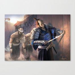 Kaiu Burei Canvas Print