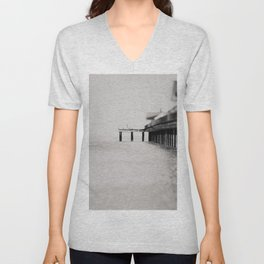 through the blur of her tears ... Unisex V-Neck