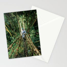 Vine Bridge of Death: Papua New Guinea Stationery Cards