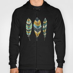 Midnight Feather Trio Hoody