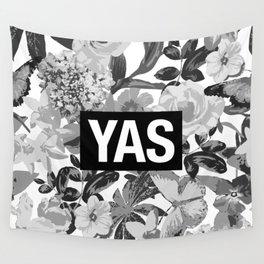 YAS B&W Wall Tapestry