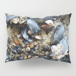 Mussels and Barnacles Pillow Sham