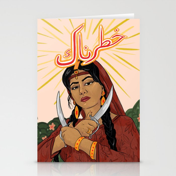 Khatarnaak Stationery Cards