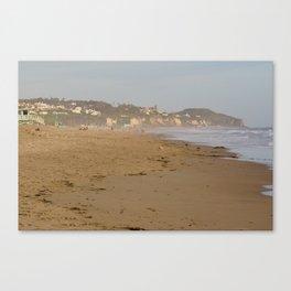 Malibu Shore Canvas Print