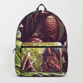 Mending the Dragon Backpack
