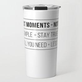 collect moments Travel Mug