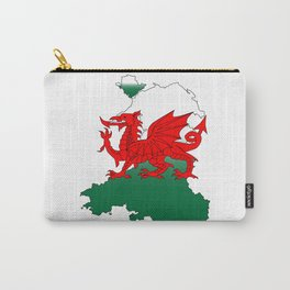 Wales and the Dragon Carry-All Pouch