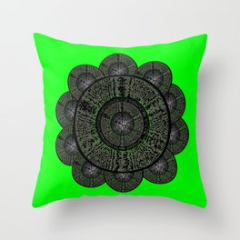 Flower Dayz Throw Pillow