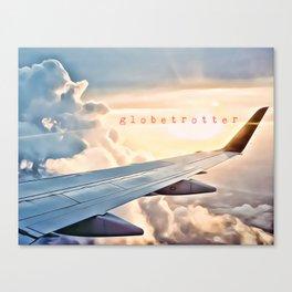 globe-trotter Canvas Print