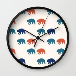 Black Bear (Pacific) Wall Clock