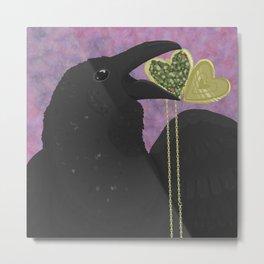 Raven's Maw Metal Print