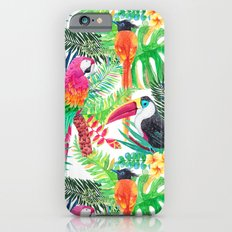 Tropical Gathering Slim Case iPhone 6s