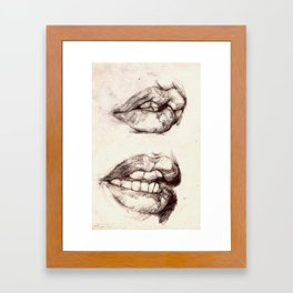 GNAW Framed Art Print