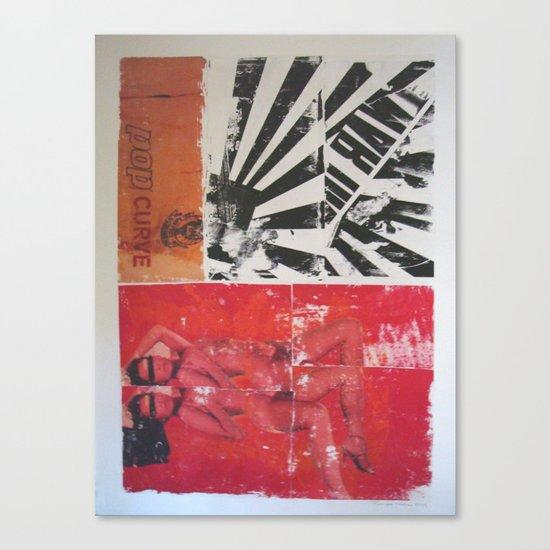 POP CURVE Canvas Print