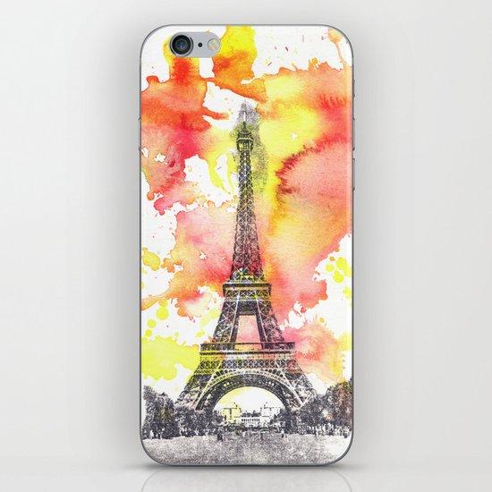 Eiffel Tower in Paris France iPhone & iPod Skin