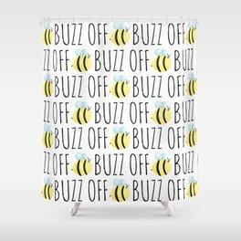 Buzz Off Shower Curtain