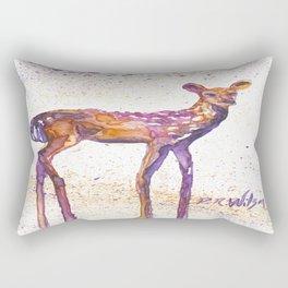 Rising Fawn Rectangular Pillow
