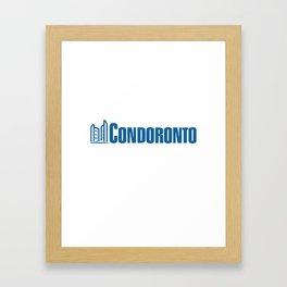 condoronto Framed Art Print